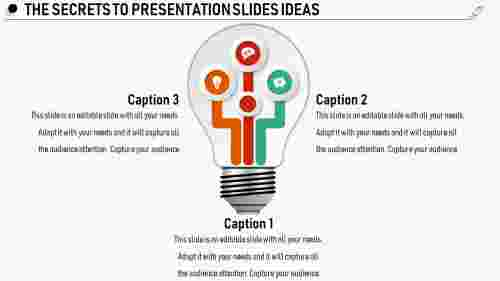 presentation slides ideas - Bulb model