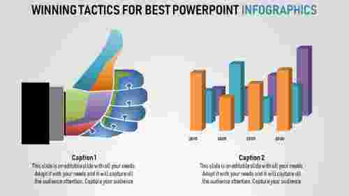 best powerpoint infographics - bar chart model