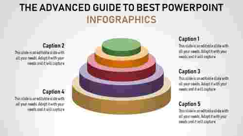 Five levels best powerpoint infographics