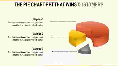pie chart powerpoint - multi color
