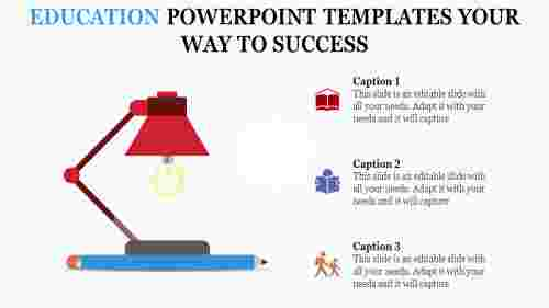 education powerpoint templates - ways to success