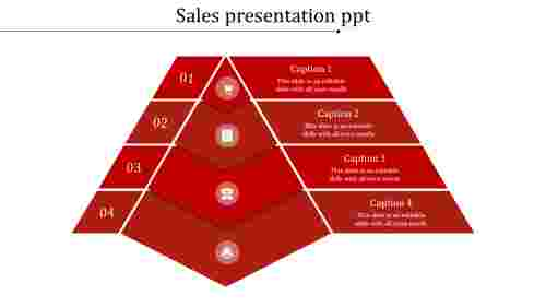 Sales Presenation PPT in segemented form