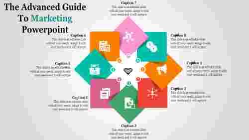 Diamond Model Marketing PowerPoint