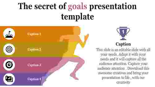 Ideas for goals presentation template