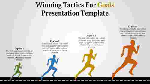 Winning Tactics For Goals Presentation Template