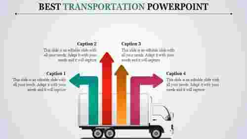 ArrowtransportationPowerPointtemplates
