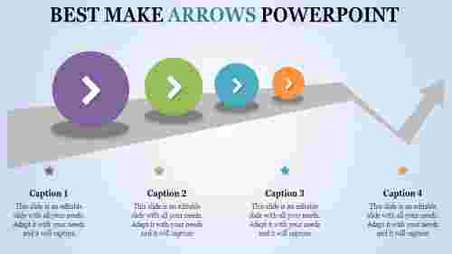 Circular arrow PowerPoint templates
