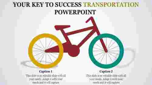 transportationpowerpointtemplates-Cyclemodel