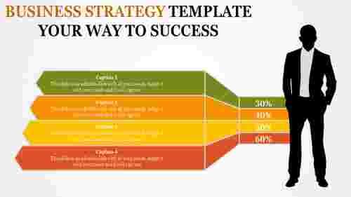 businessstrategytemplatewithcolorfulslide