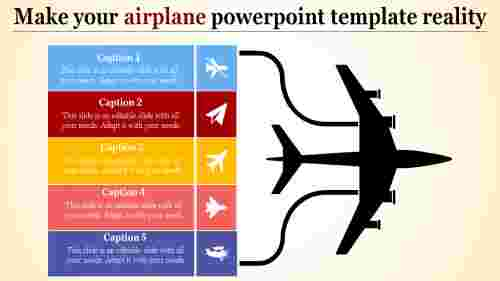 airplanepowerpointtemplate-fivestage