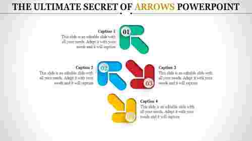arrows powerpoint templates- directional arrows