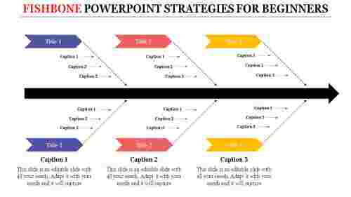 fishbone powerpoint - effect and cause template