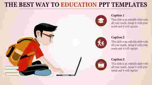 education ppt templates-The Best Way To EDUCATION PPT TEMPLATES