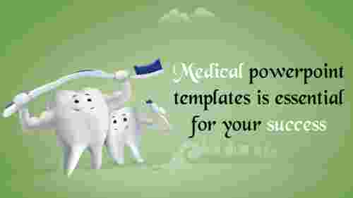 medical powerpoint templates - Teeth model