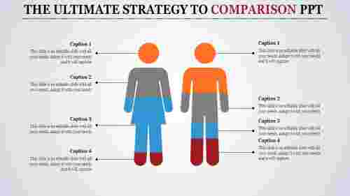 comparison ppt template-The Ultimate Strategy To COMPARISON PPT