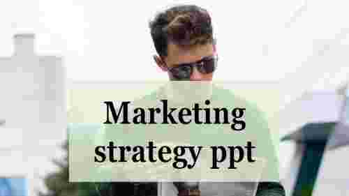 Portfolio Marketing strategy template PPT