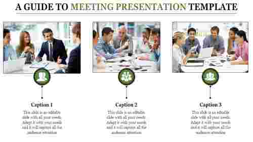 meeting presentation template for business