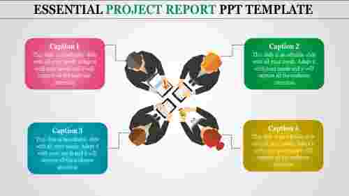 Successful Project Report PPT Template