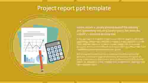 Analysis Project Report PPT Template