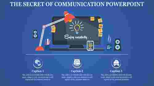systematical communication powerpoint template