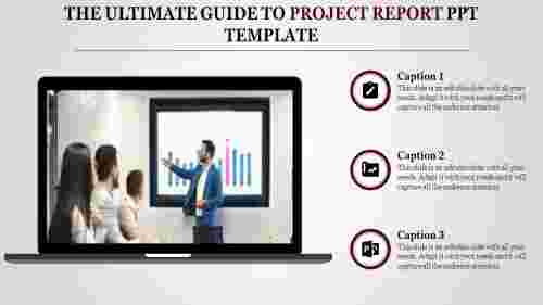 A one noded project report PPT template