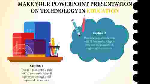 A two noded powerpoint presentation on technology