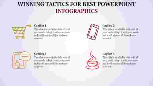 Lifestyle best powerpoint infographics