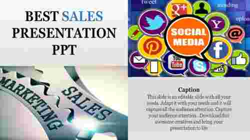 Social Media Sales Presentation PPT