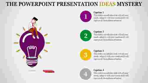 A four noded powerpoint presentation ideas