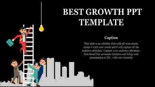 growth ppt template-Best Growth Ppt Template