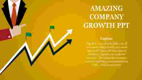 company growth ppt-Amazing Company Growth Ppt