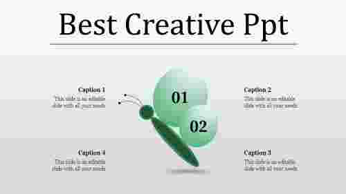 Creative%20PPT%20Template%20Presentation%20With%20Four%20Node