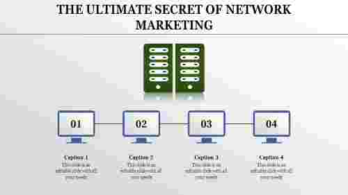 Server Network Marketing Presentation Powerpoint