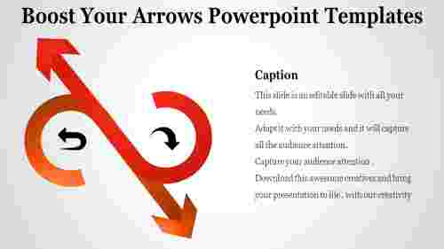 S model arrows powerpoint templates