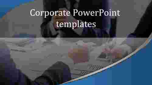 A one noded corporate powerpoint templates