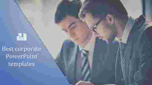 A one noded best corporate powerpoint templates