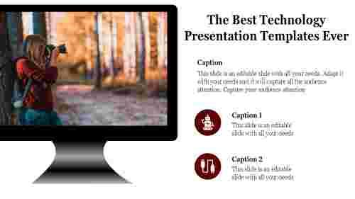 A one noded technology presentation templates