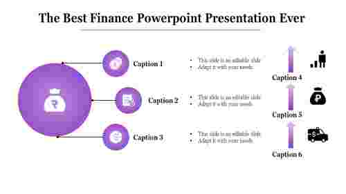 Finance PowerPoint presentation template model