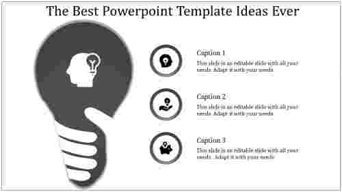A one noded powerpoint template ideas
