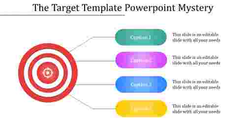 Target template powerpoint - One to Many
