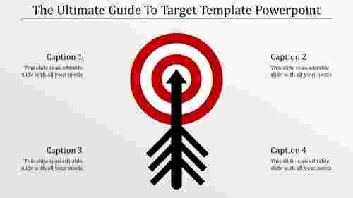 Target template powerpoint - Mixed Shape