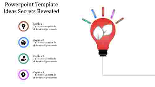 A four noded powerpoint template ideas