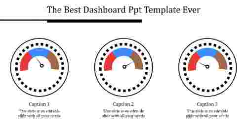 dashboard ppt template-The Best Dashboard Ppt Template Ever