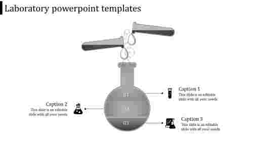 laboratory powerpoint templates-laboratory powerpoint templates-gray