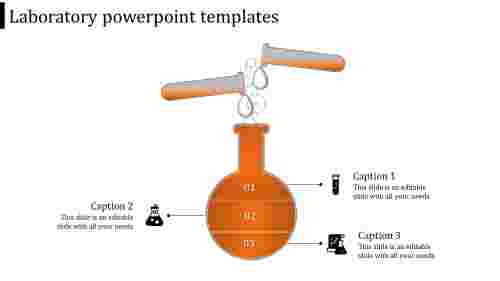 laboratory powerpoint templates-laboratory powerpoint templates-orange