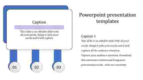 A one noded powerpoint presentation template