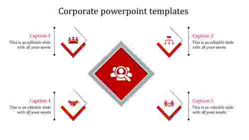 corporate powerpoint templates-corporate powerpoint templates-red
