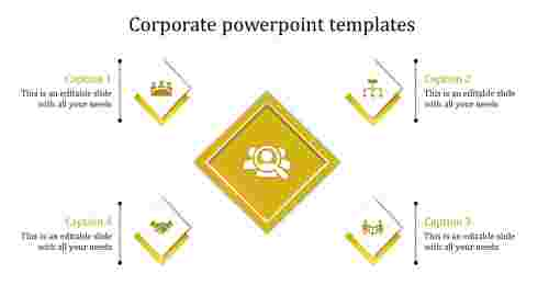 corporate powerpoint templates-corporate powerpoint templates-yellow