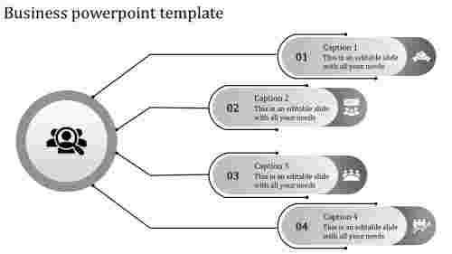 business powerpoint template-business powerpoint template-gray