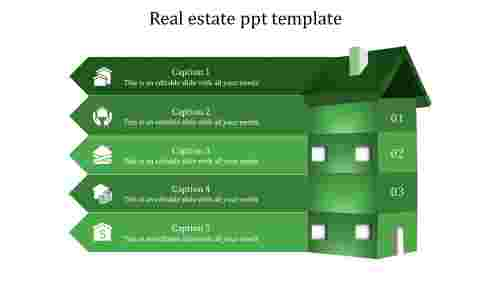 real estate ppt template-real estate ppt template-GREEN